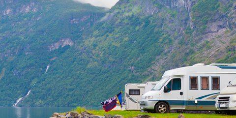 8 campings naturels et verdoyants jouissant d'un panorama fantastique