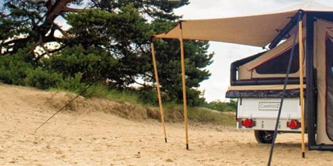 La location de caravanes pliantes pour les débutants. Aperçu complet