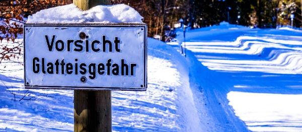 Les pneus hiver en Allemagne