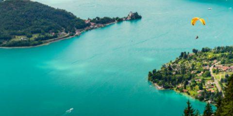Efforts et détente au bord du lac d'Annecy