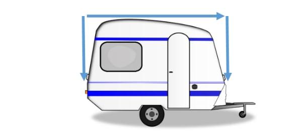 couverture de caravane
