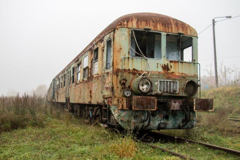 Bien sûr, vous n'en verrez pas tous les jours, mais vous aurez peut-être la chance de croiser une ancienne locomotive.