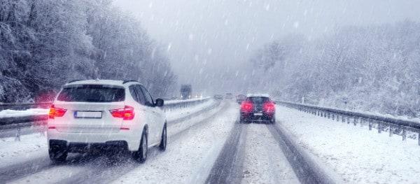 En Allemagne, il est obligatoire d'utiliser des pneus hiver en conditions hivernales