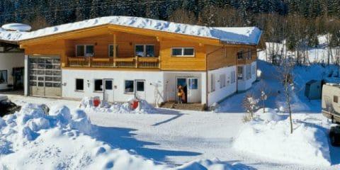 Camper en hiver : c'est facile !