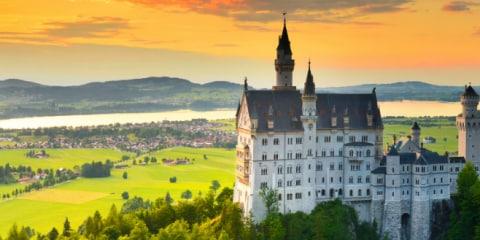 La Route Romantique, une route riche en histoire à travers l'Allemagne